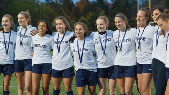 Vermont high school girls soccer team yellow-carded for revealing 'Equal Pay' jerseys during game
