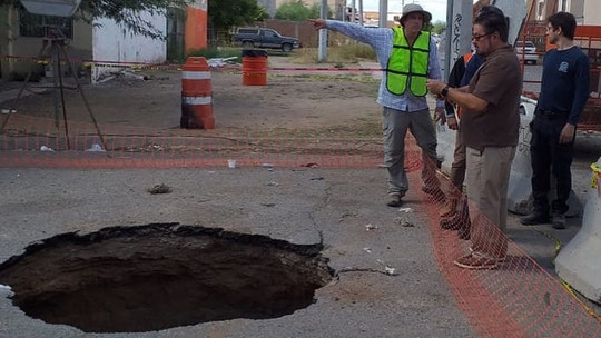 Phoenix officials flew to Mexico to help find missing man who fell in sinkhole, was swept away in storm drain