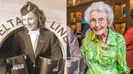 Delta Air Lines flight attendant who graduated from 'first class of stewardesses' has died at 103