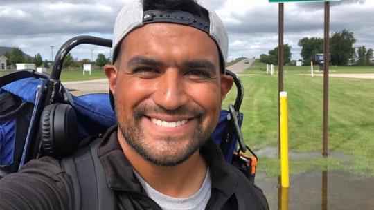 Marine walks more than 800 miles around Lake Michigan in 42 days to raise awareness for veteran suicide