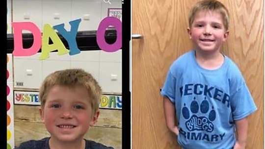 6-year-old Minnesota boy vanishes after getting off school bus