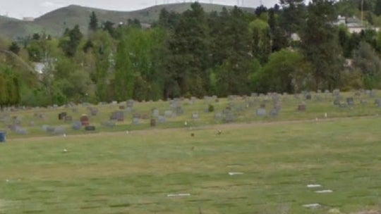 Woman claims daughter's remain were desecrated after Oregon cemetery cracked open casket