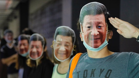 Hong Kong demonstrators parody Xi Jinping, LeBron James to protest government ban on masks