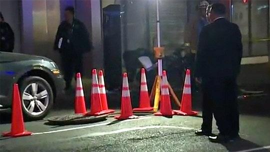 New York City police find decomposing body inside manhole