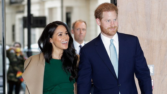 Meghan Markle recycles engagement interview dress for children's charity awards