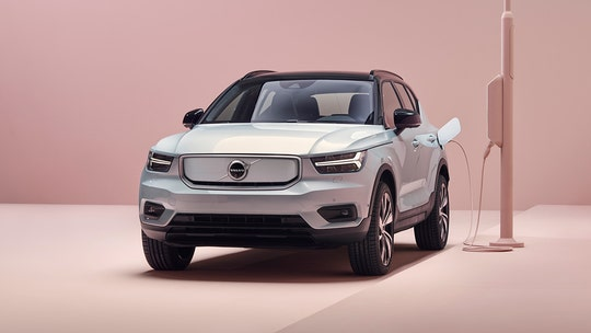 The electric Volvo XC40 Recharge is a familiar-looking car of the future