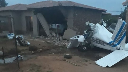South Africa pilot dies after plane crashes into home; police investigating as 'culpable homicide'