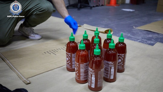 Australian police find $210M worth of meth hidden inside sriracha bottles