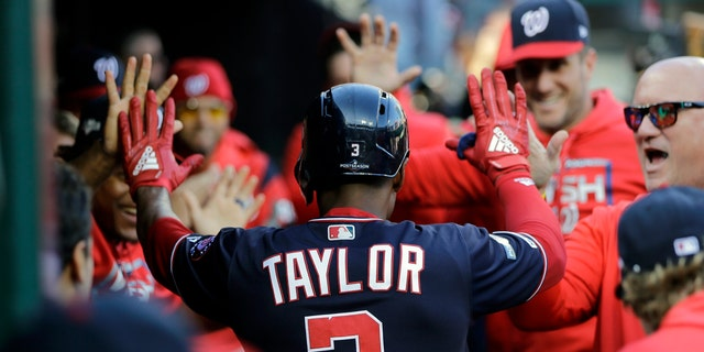Westlake Legal Group 08b2102d-Michaelataylor Nationals take 2-0 NLCS lead over Cardinals as Scherzer takes no-hitter into 7th St. Louis fox-news/sports/mlb/washington-nationals fox-news/sports/mlb/st-louis-cardinals fox-news/sports/mlb-postseason fnc/sports fnc Associated Press article a3eae4af-8cfb-5e30-9605-ad001e4083af