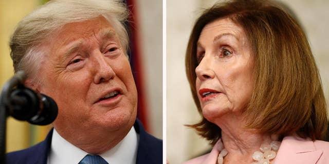 Westlake Legal Group 13f2d382-trump-pelosi Trump tells CNBC's Jim Cramer it wasn't a mistake to call Pelosi 'Crazy Nancy' to her face fox-news/media fox news fnc/media fnc Brian Flood article 280fb464-69ae-57a0-bdde-c75e0d8ecc30
