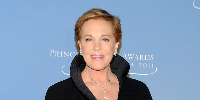 Julie Andrews explained what she's doing during the coronavirus and how it reminds her of World War II.
