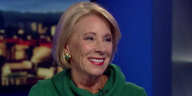 Education Secretary Betsy DeVos is concerned about the wave of private school closings during the coronavirus pandemic.