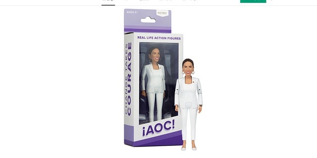 Westlake Legal Group AOC-action-figure Design studio releasing Ocasio-Cortez action figure Sam Dorman fox-news/politics/house-of-representatives/democrats fox-news/person/alexandria-ocasio-cortez fox news fnc/media fnc article 9921e3cf-4811-5258-a74a-4b3617a858b5