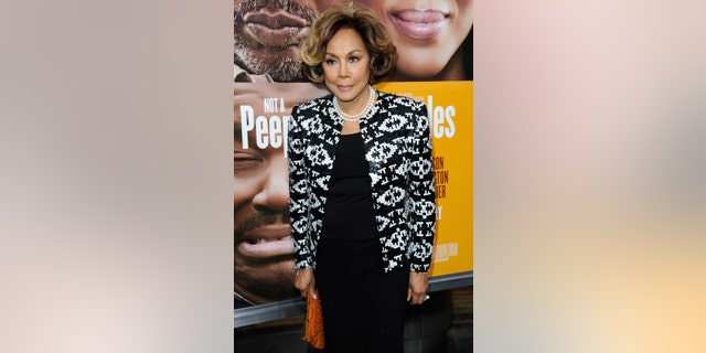 "This May 8, 2013 file photo shows Diahann Carroll at the world premiere of ""Peeples"" in Los Angeles."
