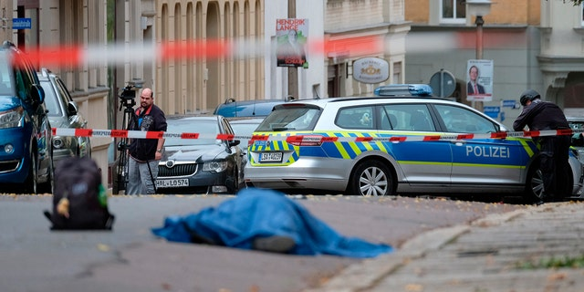 At least two people were killed in a shooting in eastern Germany on Wednesday, police said.