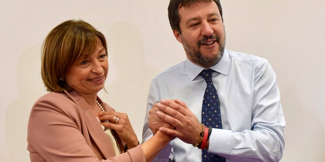 Italy's right-wing firebrand Matteo Salvini triumphs in leftist stronghold