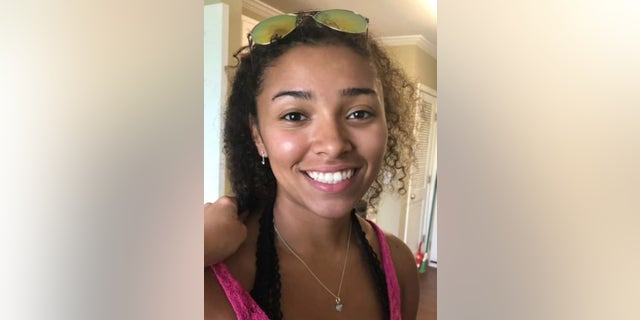 This undated photograph released by police in Auburn, Ala., shows Aniah Haley Blanchard, 19. The state of Alabama offered a $5,000 reward for information in her disappearance on Wednesday.