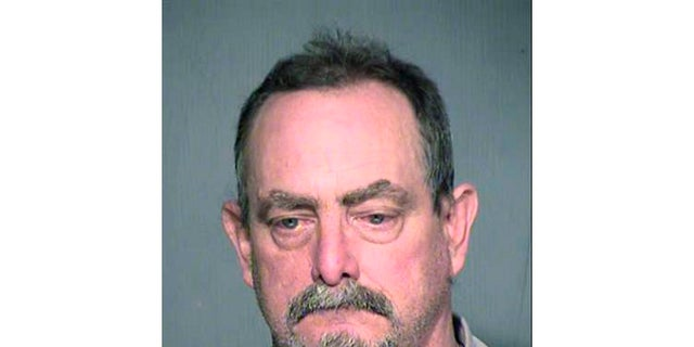 Daniel Davitt is seen in this undated photo. (Maricopa County Sheriff's Office via AP)