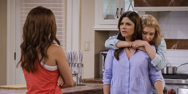 "These days, Tiffani Thiessen is keeping busy with her Netflix series ""Alexa and Katie."""