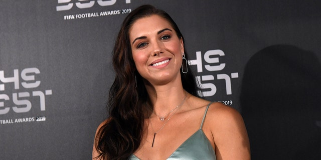 Alex Morgan attends The Best FIFA Football Awards in Milan last month. (Photo by Claudio Villa/Getty Images)