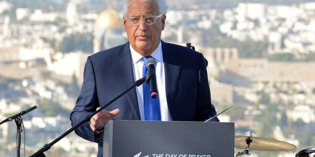 David Friedman, United States Ambassador to Israel, was the keynote speaker at the Global Day of Prayer for the Peace of Jerusalem event held in Israel on Sunday.
