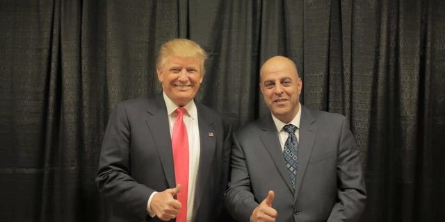 Amer Fakhoury is a true believer of President Trump, is active in a New Hampshire Republican Party, and even attended a debate eventuality where he was snapped in a print with a president, giving a thumbs-up.