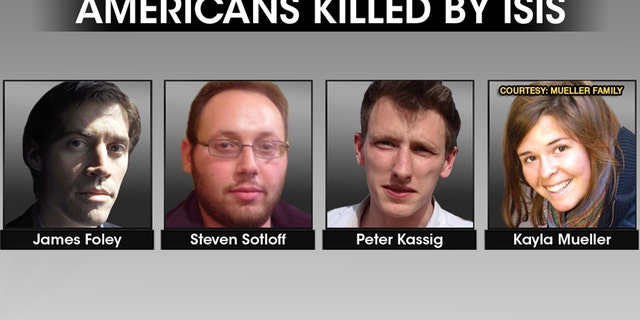 James Foley, Steven Sotloff, Peter Kassig and Kayla Mueller were Americans killed at the hands of ISIS under al-Baghdadi's leadership.