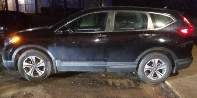 Blanchard's black Honda CR-V was found damaged more than 55 miles from where she was last seen.
