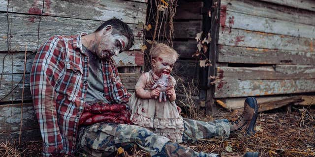 This Photographer Puts His Daughters in Horror Photos That