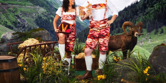 "Arby's announced in a press release it would be releasing an ""exclusive line of Oktoberfest and Arby's themed items."""