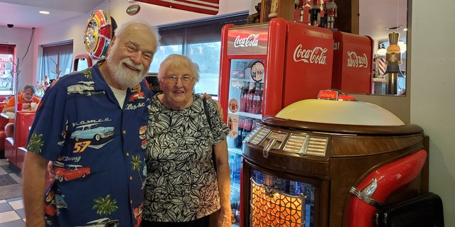 Westlake Legal Group Bob-AND-Annette-2-NUTCRACKER-FAMILY-RESTAURANT High school sweethearts reunite and wed, 63 years later Janine Puhak fox-news/lifestyle/weddings fox-news/lifestyle/relationships fox-news/lifestyle fox news fnc/lifestyle fnc article afab57ae-8705-52f7-8d4e-46feb5a9237a
