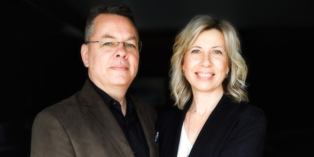 Andrew Brunson, 51, and his wife, Norine.