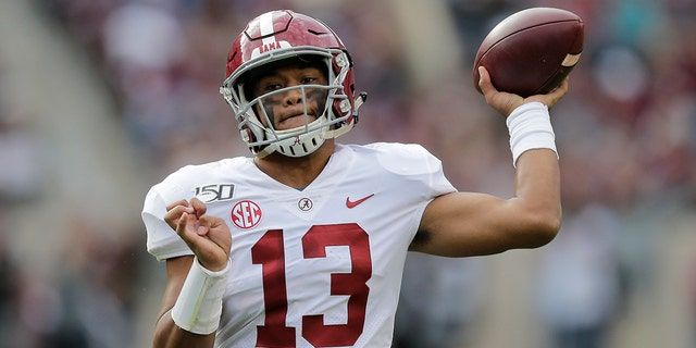 Tua Tagovailoa starred at Alabama (AP Photo/Sam Craft)