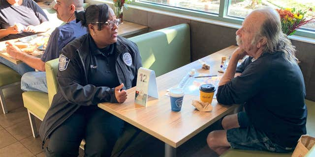 """""""People can talk about whatever they want and get to know officers, who in turn get to know the citizens they serve,"""" retired police Sgt. Chris Cognac, the co-founder of Coffee With a Cop, told Fox News.<br>"""