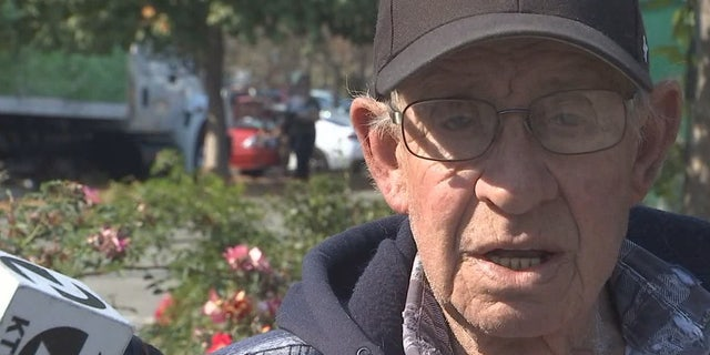 "George Wiget, who evacuated his home in Bodega Bay, Calif. due to wildfire risk and power outages, said he would leave California ""tomorrow"" if he had enough money to do so."
