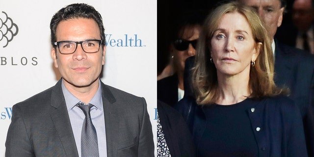 Felicity Huffman's 'Desperate Housewives' co-star Ricardo Chavira slams 14-day sentence