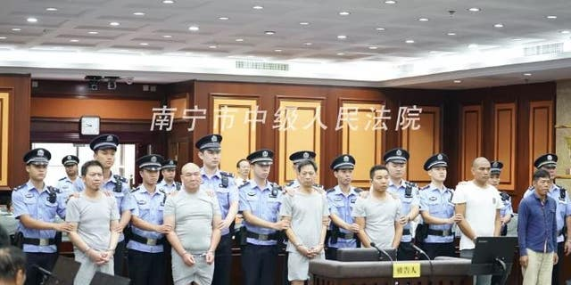 Six Chinese defendants were recently jailed for their roles in a botched hit job that was subcontracted out several times.