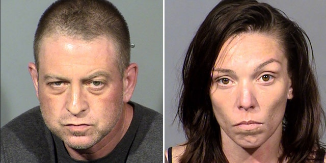 Prestipino and Mort were arrested on Friday after a missing woman's body was discovered in the desert, police said.