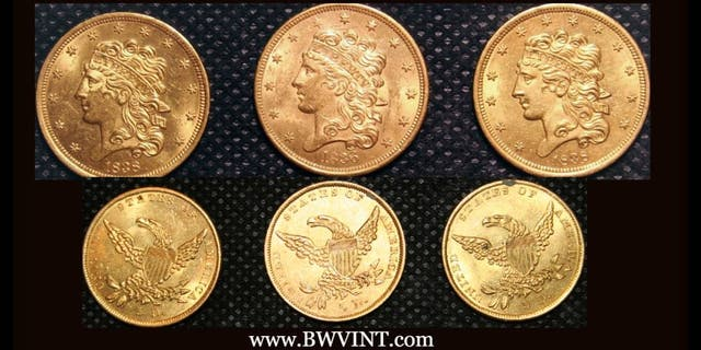 Experts believe that the SS North Carolina shipwreck contains a trove of gold coins. (Blue Water Ventures International)