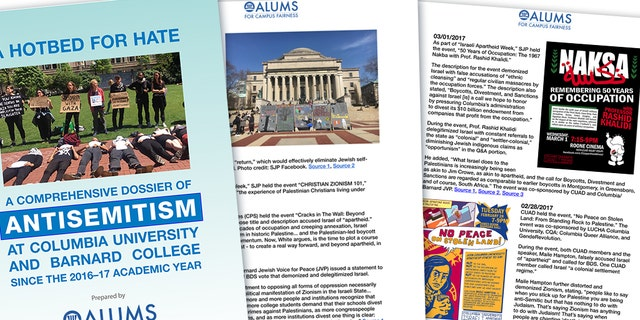 """A report released on Wednesday by Alums for Campus Fairness (ACF), an alumni network trying to combat campus anti-Semitism and anti-Israel bias, refers to Columbia University and its sister school, Barnard College, in New York City as """"a hotbed for hate,"""" documenting """"systemic anti-Semitismand an engrained delegitimization of Israel"""" at the schools."""