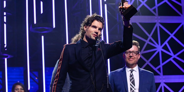 For King & Country wins pop/contemporary recorded song of the year a the 50th GMA Dove Awards.