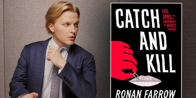 New York, NY- October 4: Catch and Kill author Ronan Farrow in New York City on October 4, 2019. (Credit: Mary Inhea Kang for The Washington Post via Getty Images)