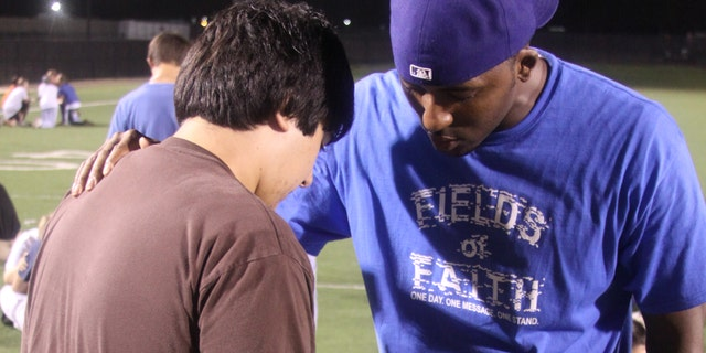 Hundreds of thousands of students will participate Wednesday in Fields of Faith across the nation.