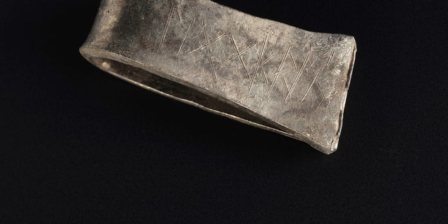"Runic inscriptions on a silver arm-ring from the ""Galloway Hoard"" have been deciphered."