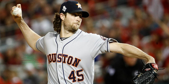 Major League Baseball  bans two women after they flashed Gerrit Cole at World Series