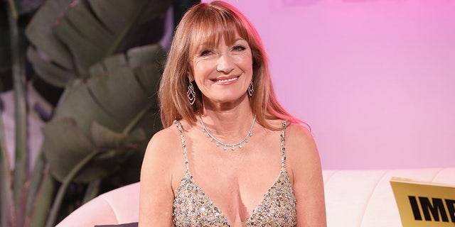 Jane Seymour attended IMDb LIVE at the Elton John AIDS Foundation Academy Awards Viewing Party on Feb. 24 in Los Angeles.