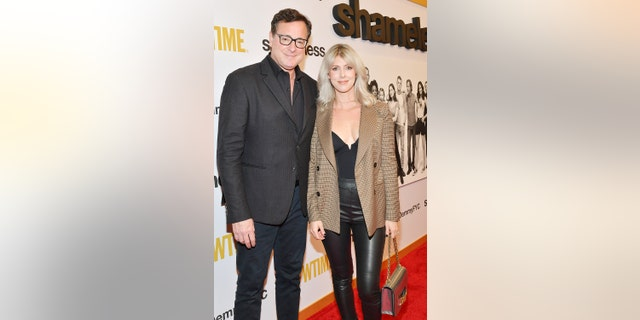 "Bob Saget and Kelly Rizzo attend For Your Consideration Event For Showtime's ""Shameless"" at Linwood Dunn Theater on March 06, 2019 in Los Angeles, California."