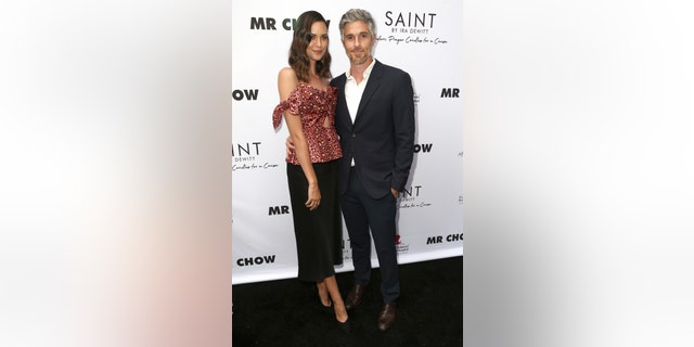 Odette Annable and Dave Annable are pictured together this past June. (Photo by Tommaso Boddi/Getty Images)
