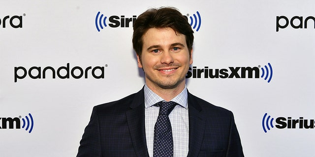 "Jason Ritter visits SiriusXM Studios to promote the television show ""Raising Dion"" on Oct. 2, 2019, in New York City."