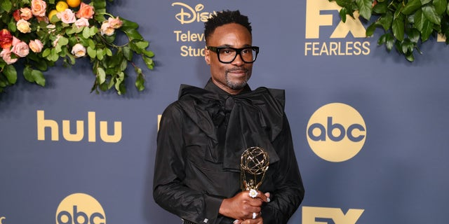 Billy Porter after winning an Emmy Award for outstanding leading actor in a drama series for 'Pose.'